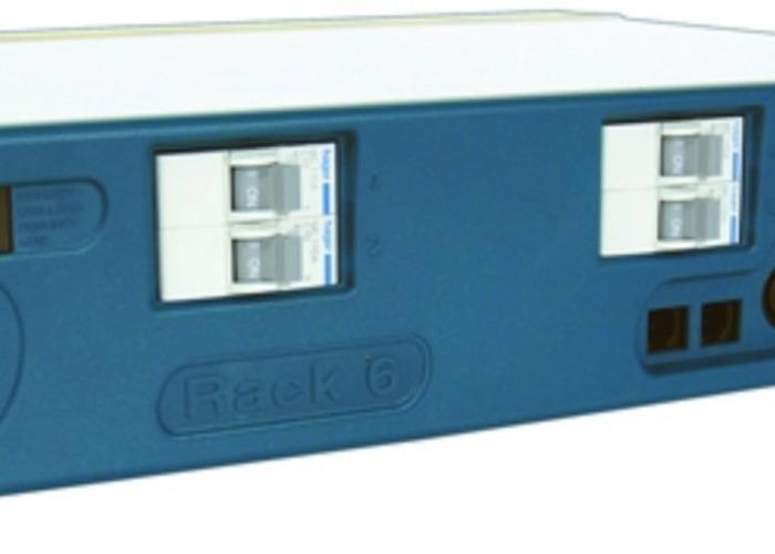 Rack6 - 6 Channel DMX Rack Dimmer - Socapex Out - 1