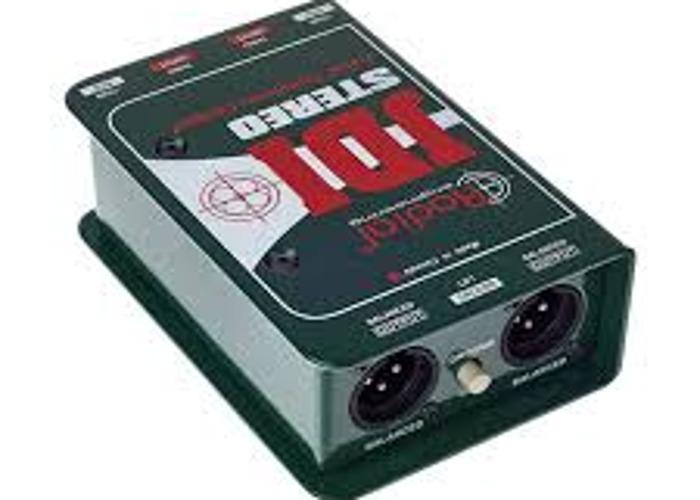 Radial JDI Stereo Passive DI  - 1