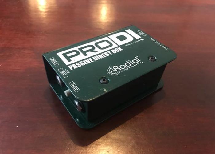 Radial ProDI 1-channel passive DI - 2