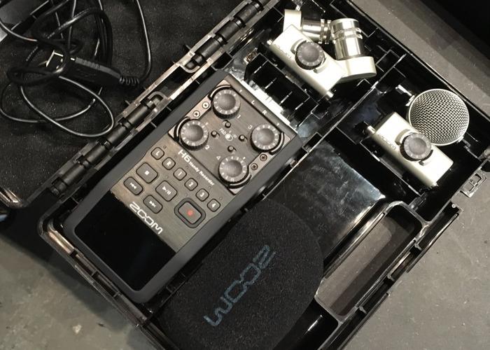 Radio MIC set LAVALIER + ZOOM H6 RECORDER - 1