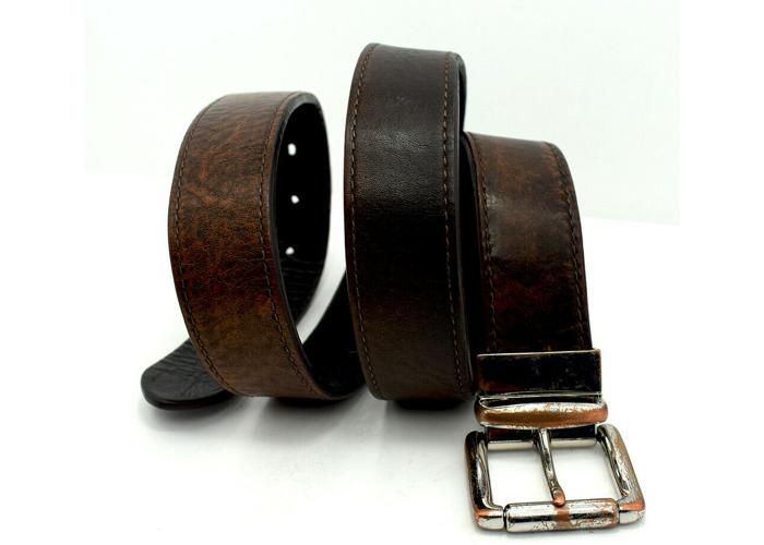 Buy Ralph Lauren Polo Vintage Reversible Mens Leather Belt
