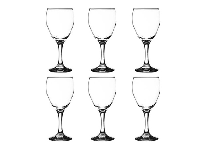 Ravenhead Essentials 300ml Set Of 6 Red Wine Glasses - 1