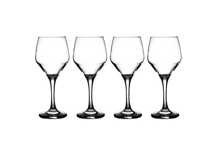 Ravenhead Majestic 300ml Set Of 4 White Wine Glasses - 1
