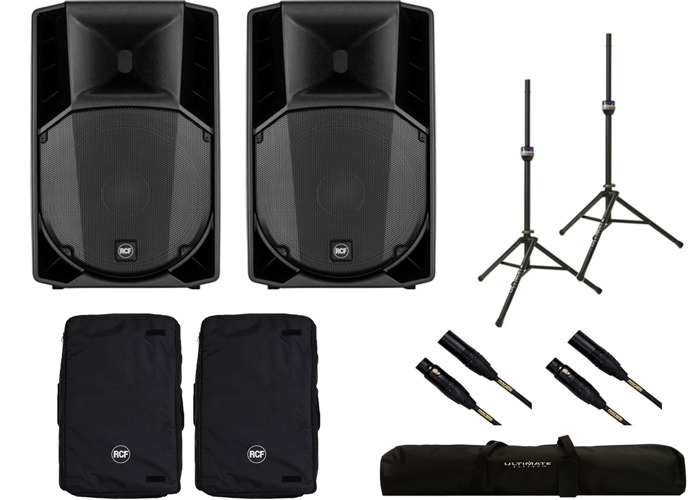 Rent RCF Art 715-A mk4 Pair of active speakers PA System in Newcastle upon  Tyne