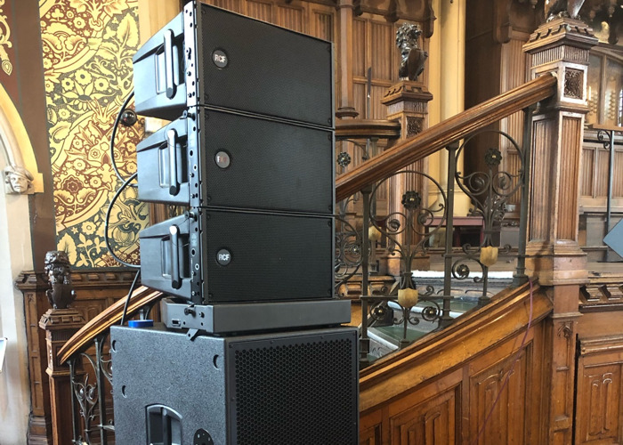 RCF HDL series line array - 1
