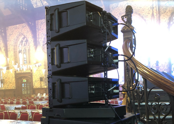 RCF HDL series line array - 2