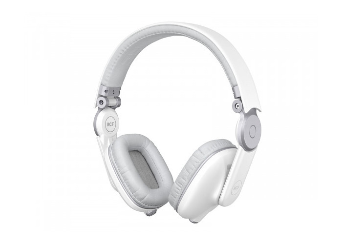 RCF ICONICA DJ Headphones - Angel White - 1