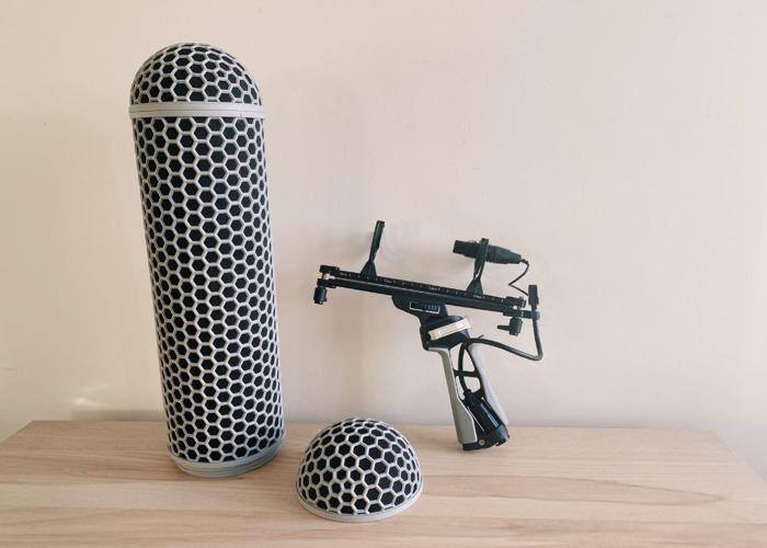 RØDE Blimp - Microphone suspension windshield system - 2