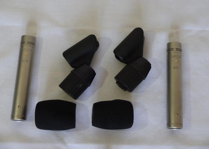 Røde NT5 Condenser Microphones (1 of 2) - 2