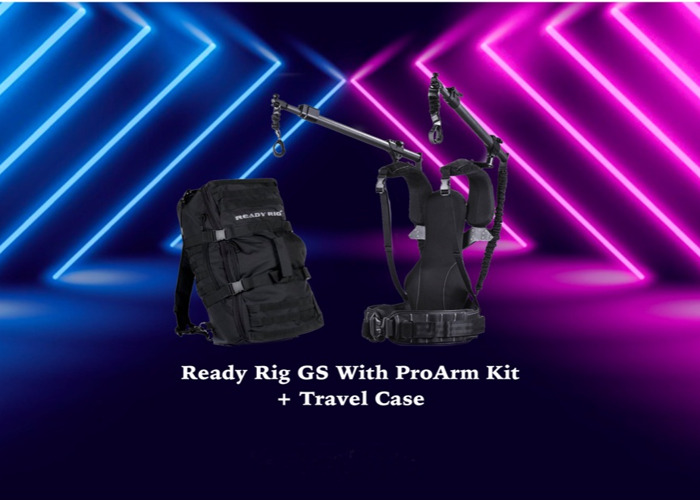 Ready Rig with ProArm + Travel Case - 1