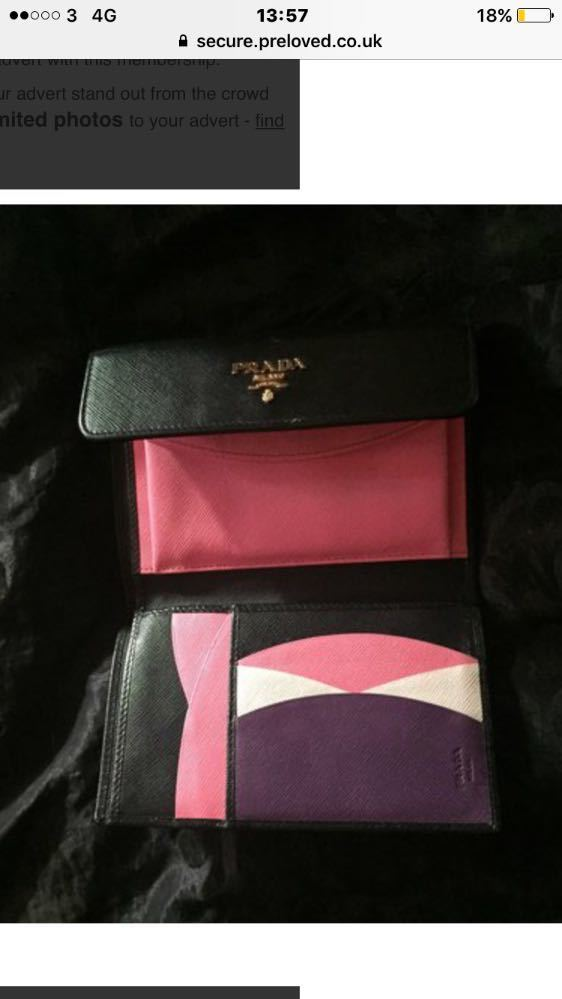 Real Ang and unique Prada purse - 1