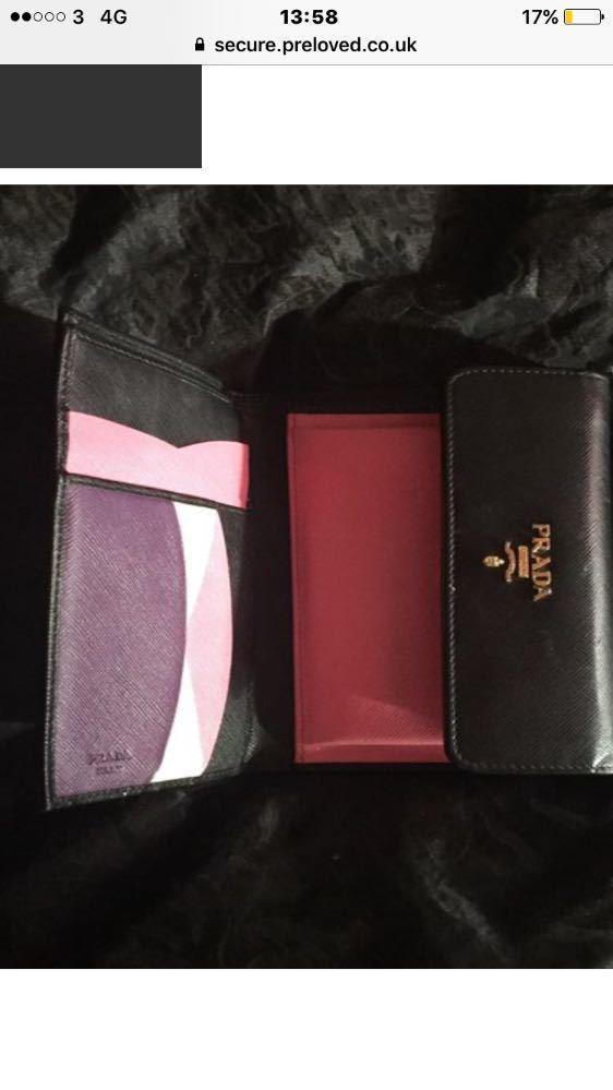 Real Ang and unique Prada purse - 2