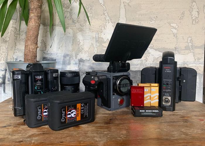 Rent Red Scarlet W 5k dragon DSMC2 Camera EF Package 3 (incl 7