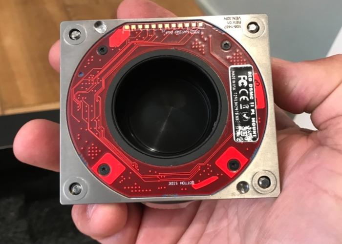 Red DSMC1 PL mount for Dragon etc - 2