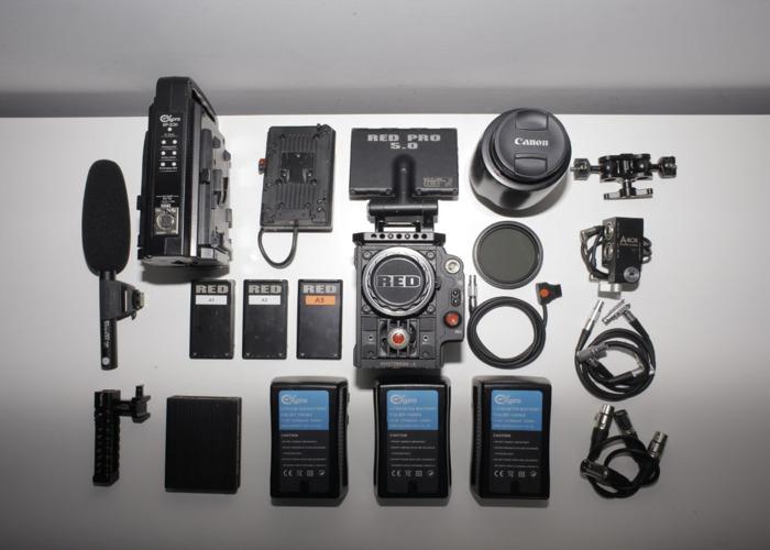 Red Epic Camera Kit + DJI Ronin - 2