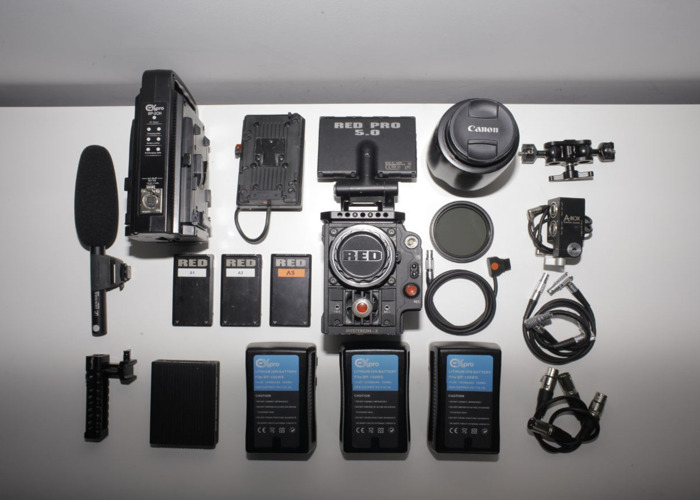 Red Epic Camera Kit + Shoulder Rig - 2