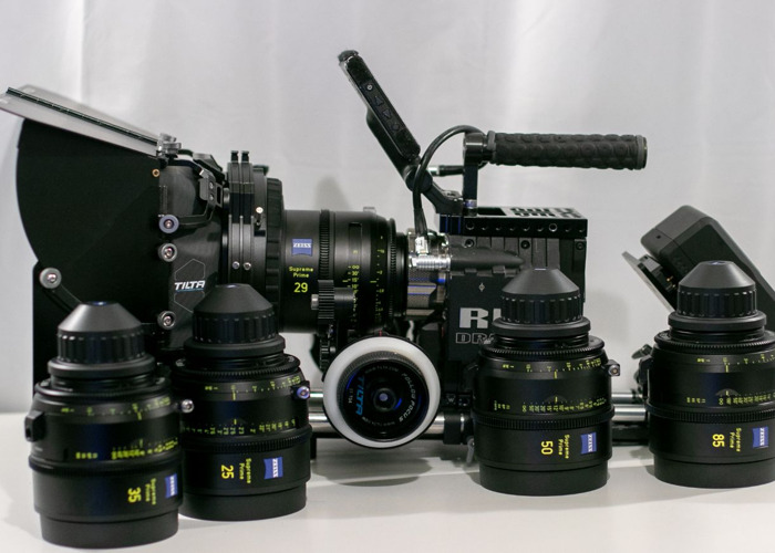 Red Epic Dragon + Zeiss Supreme Primes - 1