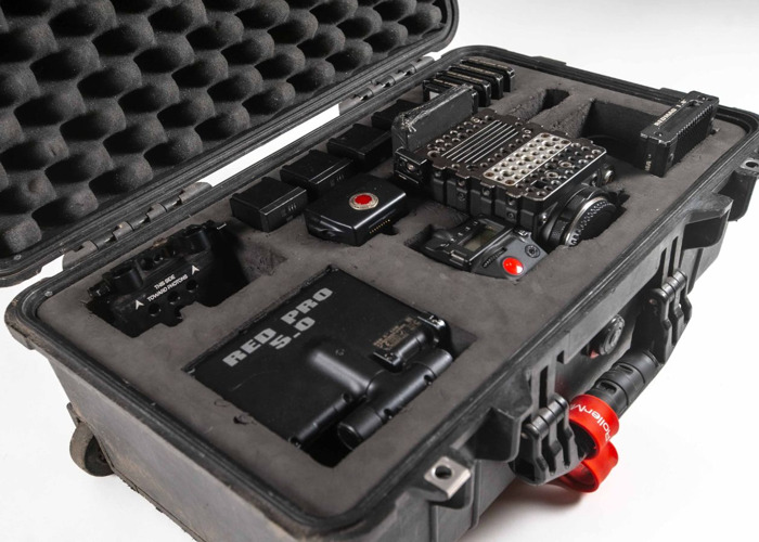 Red Epic Dragon X 6K camera kit + lots of accessories (see listing) - 2