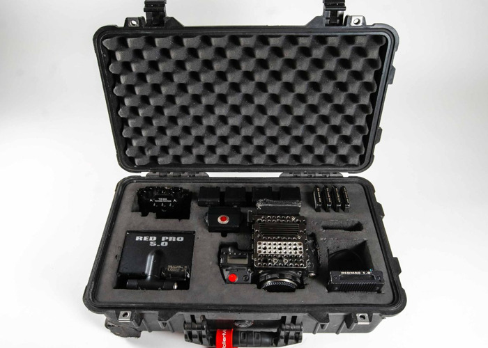 Red Epic Dragon X 6K camera kit + lots of accessories (see listing) - 1