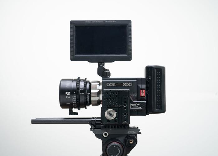 Red Epic W 8k Camera + 3x Sigma Cine FF ART Lenses ( 24mm T1.5 / 50mm t1.5 / 85mm t1.5 ) + 2TB Memory, Batteries (Full Film Cinema Package Kit) - 1