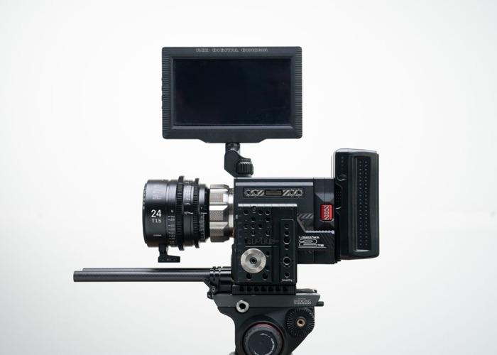 Red Epic W 8k Camera + 3x Sigma Cine FF ART Lenses ( 24mm T1.5 / 50mm t1.5 / 85mm t1.5 ) + 2TB Memory, Batteries (Full Film Cinema Package Kit) - 2