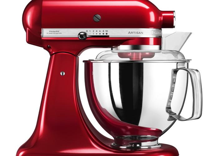 Red Kitchenaid Artisian - 1