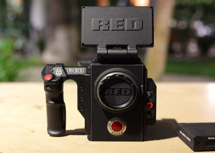 "RED Raven, 2 Bricks, 480GB Mini-Mag, 4.7"" LCD, Side Handle - 1"