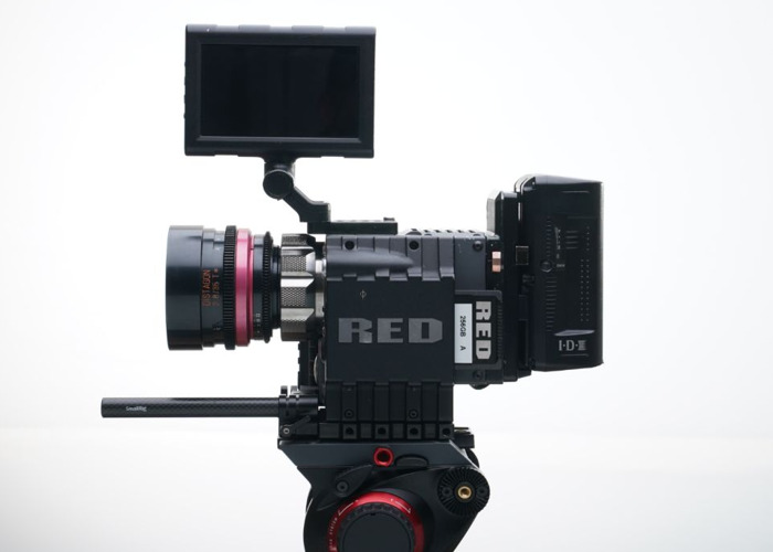 Red Scarlet Camera w 5 x Cine housed Zeiss Contax Lenses ( 25mm / 35mm / 50mm / 85mm / 100mm ), Memory, Batteries - 1