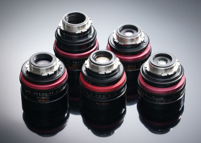 Red Scarlet Camera w 5 x Cine housed Zeiss Contax Lenses ( 25mm / 35mm / 50mm / 85mm / 100mm ), Memory, Batteries - 2