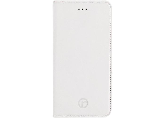 Redneck Red Line Book Folio Case for Apple iPhone 6 - White - 2