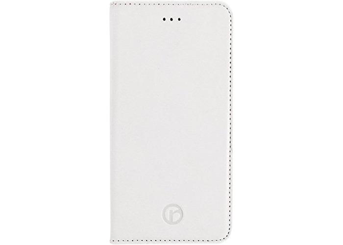 Redneck Red Line Book Folio Case for Apple iPhone 6 - White - 1