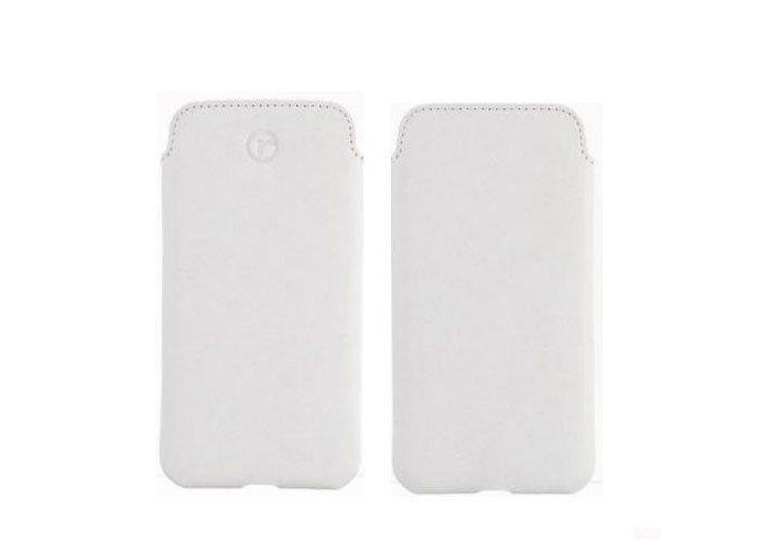 Redneck Red Line Pouch Cases for Apple iPhone 6 (White) - 1