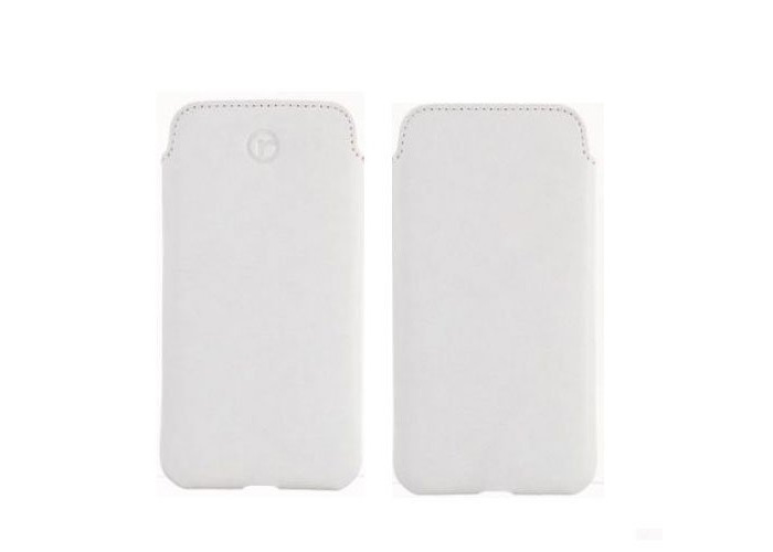 Redneck Red Line Pouch Cases for Apple iPhone 6 (White) - 2