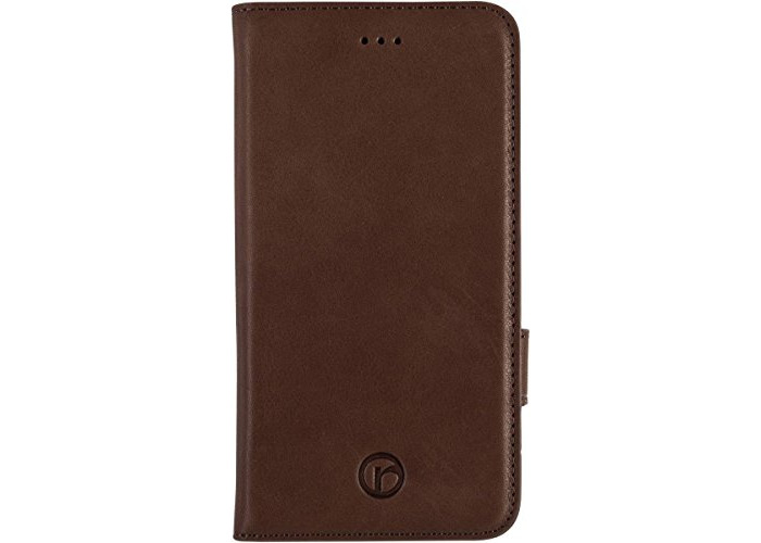 Redneck Red Line Wallet Folio Case for Apple iPhone 6 - Brown - 1
