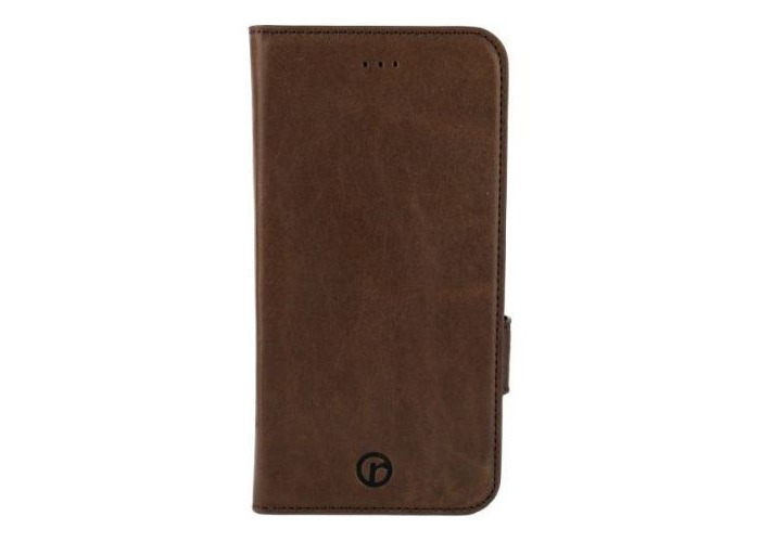 REDNECK RNCS00040Genuine Leather Wallet Folio Case Cover for Apple iPhone 6/6S Plus Brown - 1
