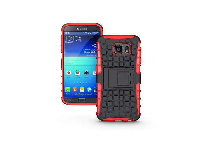 Redneck Tetron Case for Samsung Galaxy S6 - Red - 2