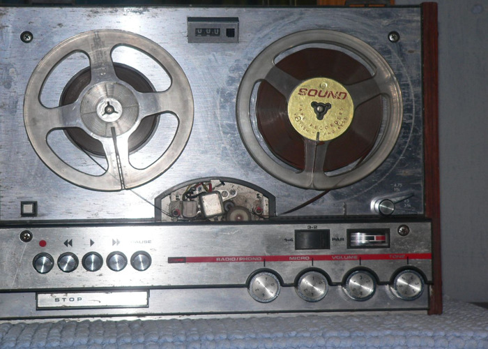 Reel to Reel Audio Recorder - 1