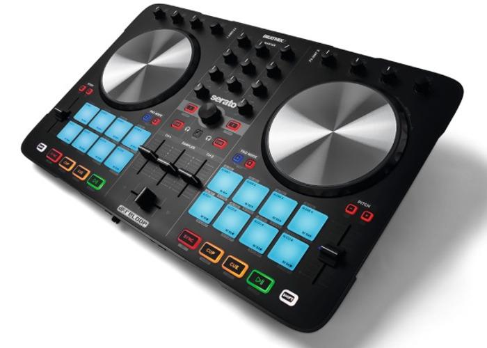 Reloop BeatMix 2 MK2 Serato DJ Controller 2 Channel Performa - 2