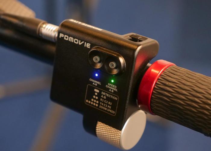 Remote Live Follow Focus PDmovie 2xMotors + Thumb controller - 2