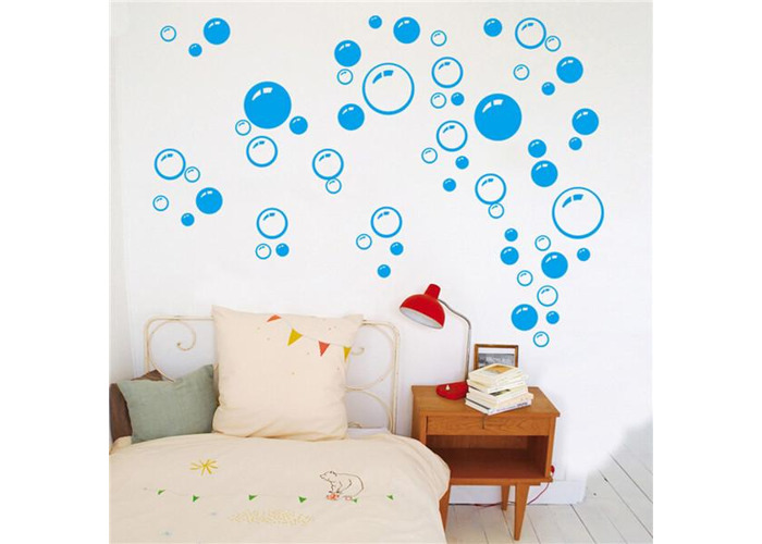 Removable Bubbles DIY Art Wall Decal Home Decor Wall Bathroom Room Stickers - 1