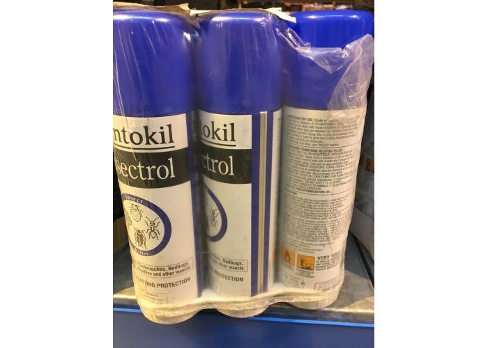 Rentokil PSI36 Insectrol Insect Killer 250ml Aerosol ( 6 X 250ml )Tins - 1
