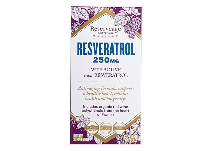 Reserveage Nutrition Resveratrol 250mg (Certified Organic, 120 Vegetarian Capsules) - 2