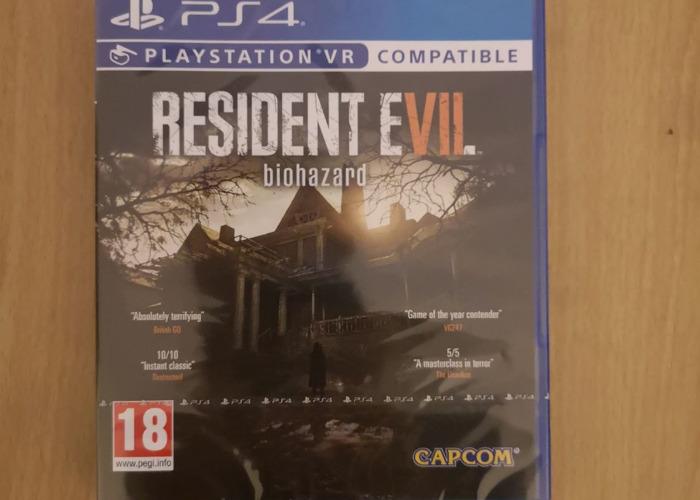 Rent Resident Evil 7 Biohazard Ps4 Game Playstation Vr Compat