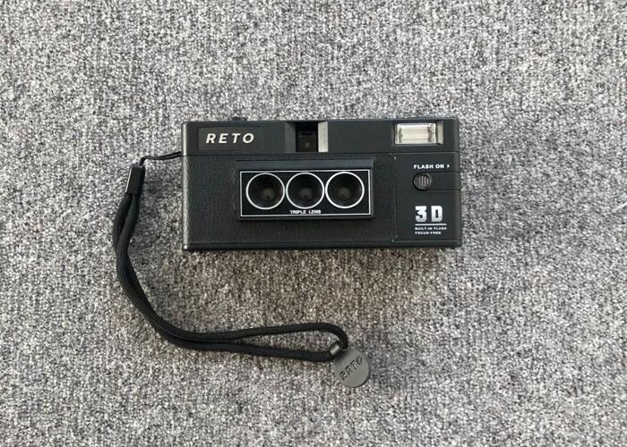 RETO3D 3D Film Camera w/Flash (Similar to Nishika/Nimslo) - 1