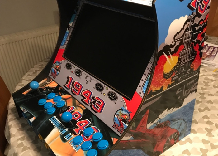 Retro arcade machine 10108 ganes - 1
