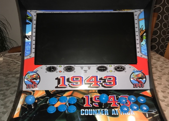 Retro arcade machine 10108 ganes - 2