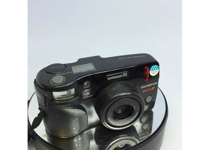 Retro Camera - Olympus Superzoom 120 Weatherproof  Multi AF 35mm film camera#405 - 1