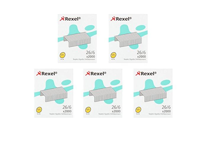 Rexel No.56 Staples 26/6 Most Common Staple Around (5) - 1