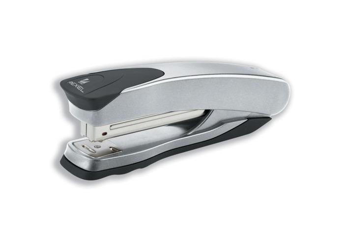 Rexel Taurus Stapler Full-Strip Silver Ref 2100811 - 1