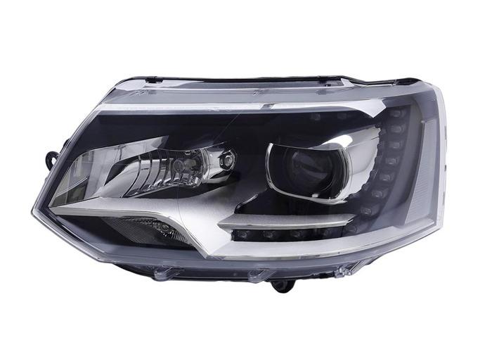 RHD Front Left Headlight x1 Bi-Xenon Fits VW Transporter / Caravelle Mk V Bus - 1